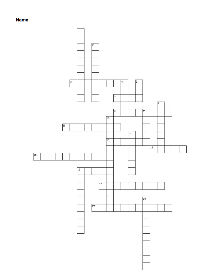 solved crossword clues across 3 i am the canonical terms Cross Crossword