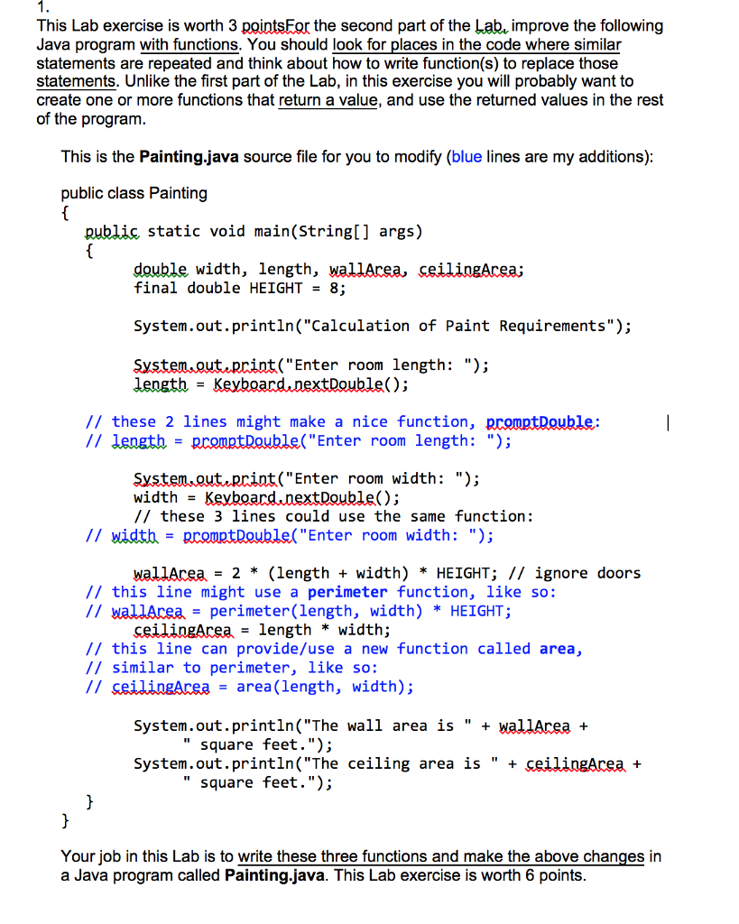 Solved: Can Somebody Please Help Me With These Two Java Pr
