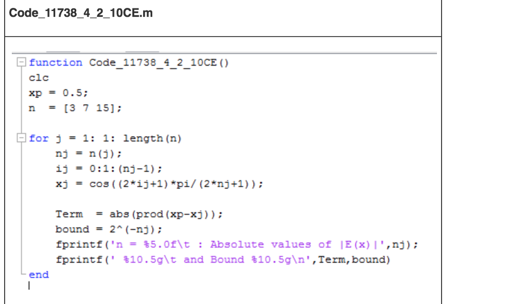 Convert This MATLAB Code Into JAVA Code And Show T    | Chegg com