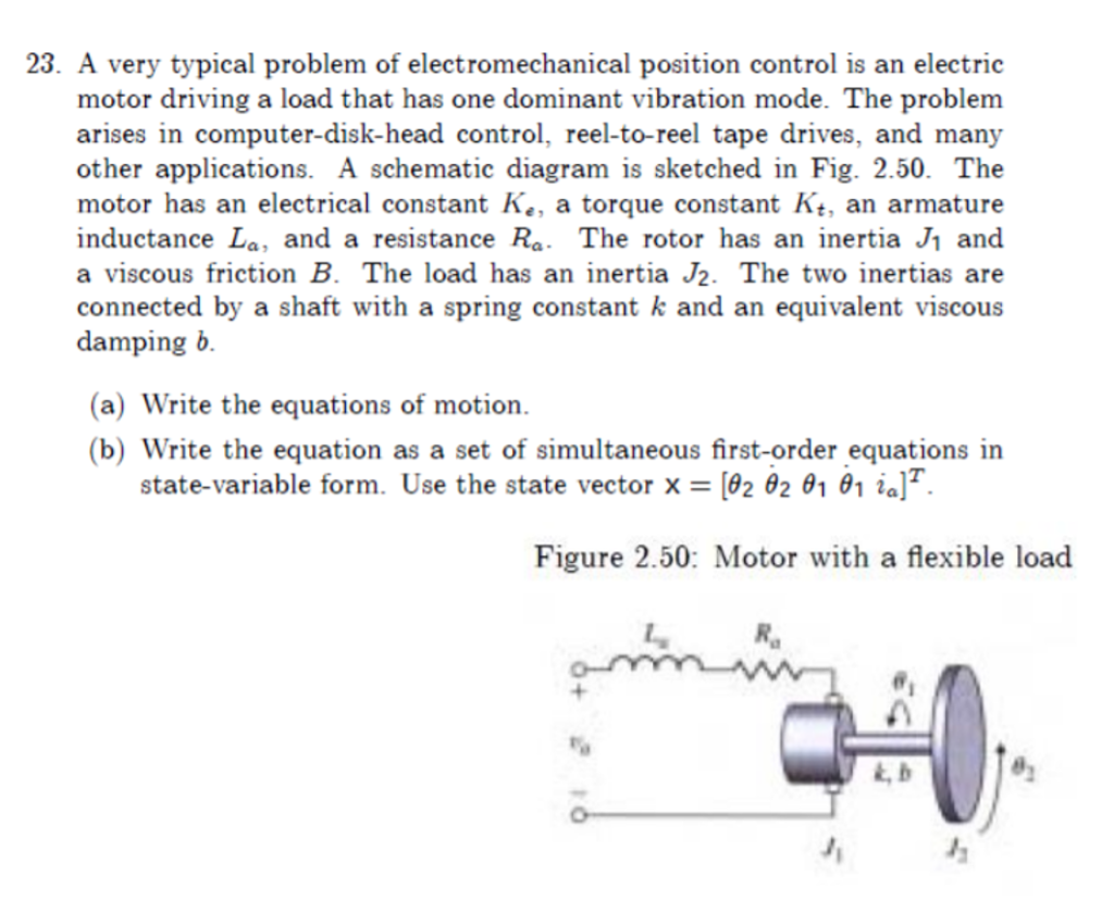 Solved 23 A Very Typical Problem Of Electromechanical Po To Do Electrical Troubleshooting Motor Control Circuit Position Is An Electric Driving