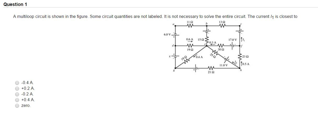 solved a multiloop circuit is shown in the figure some c rh chegg com