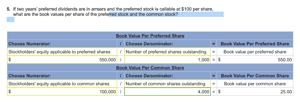 callable preferred stock