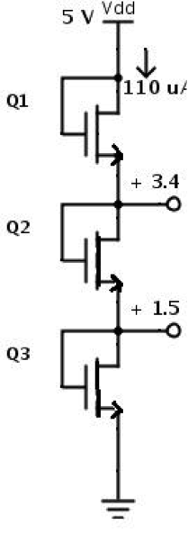 solved  problem 1 the nmos transistors shown in circuit be