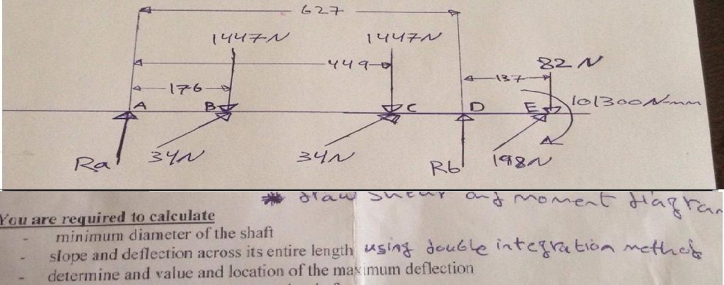 Figure 1 Shows A Drive Shaft Assembly, The Shaft I