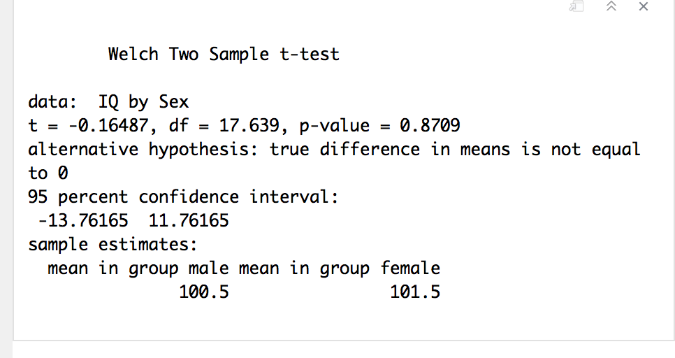 Metabolic changes statistical comparisons: welch 2-sample t test.