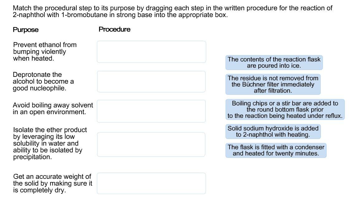 Match making procedure