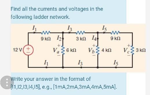 Solved In The Following Single Loop Power Supply Circuit