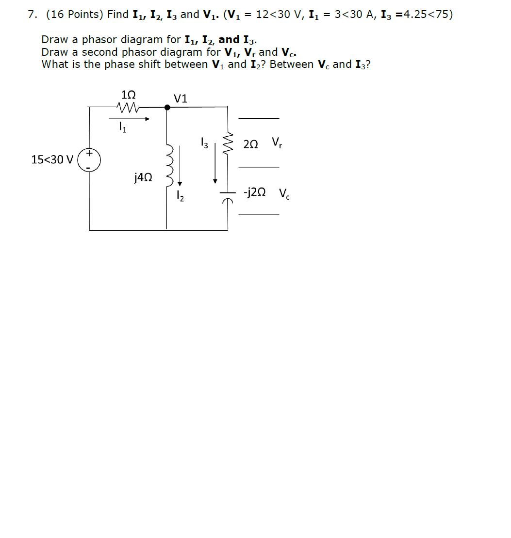 Draw Phasor Diagram Online Points I And V