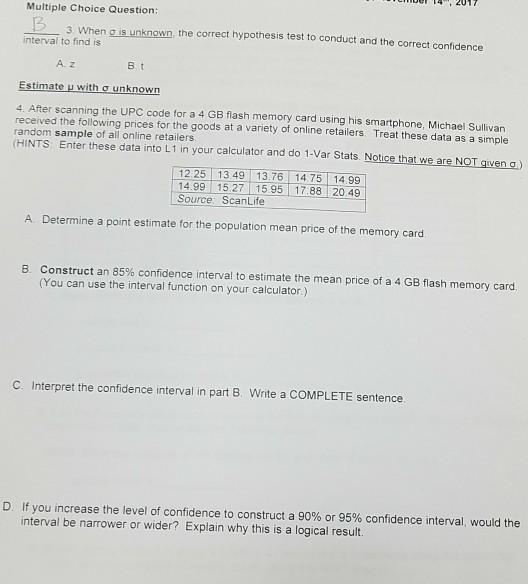 Solved Multiple Choice Question 2 3 When S Is Unknown