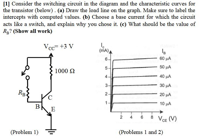 Solved: [11 Consider The Switching Circuit In The Diagram ...