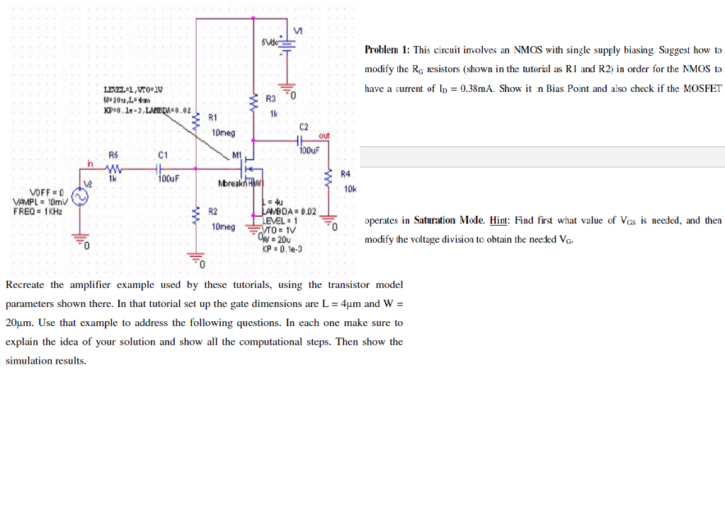 Metal oxide semiconductor fet (mosfet) tutorial & circuits.