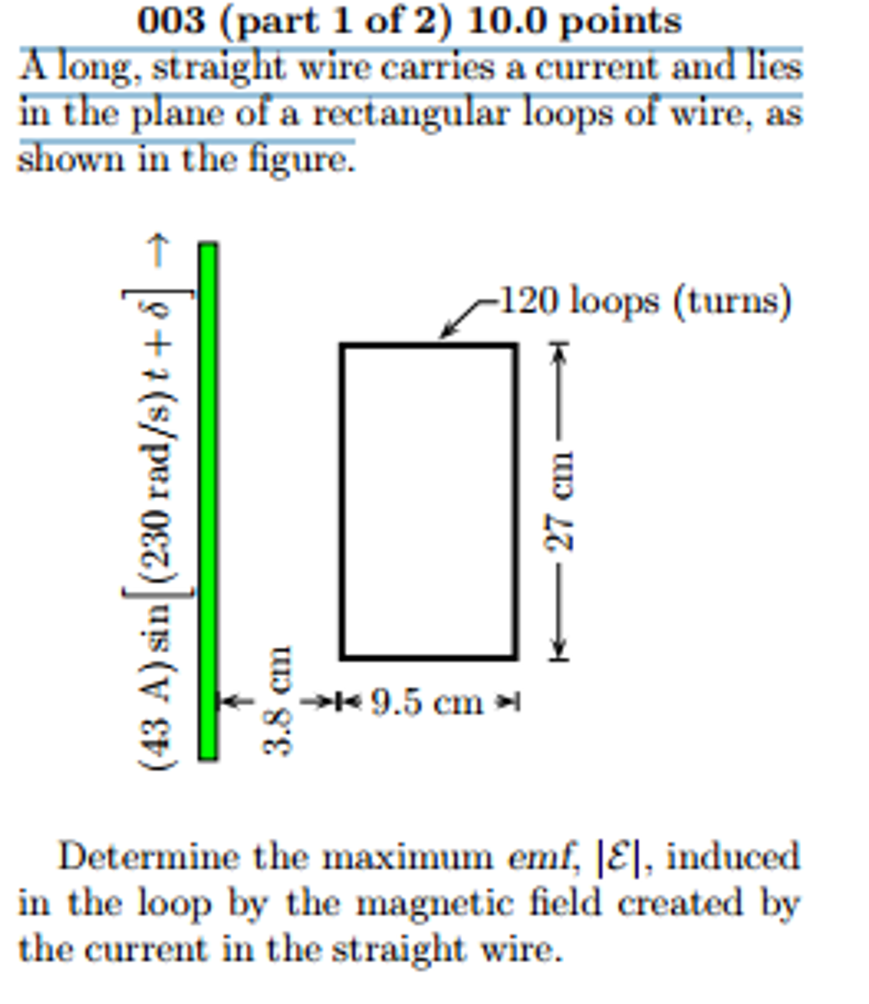 Solved A Long Straight Wire Carries Current And Lies I Cool Wiring Diagram