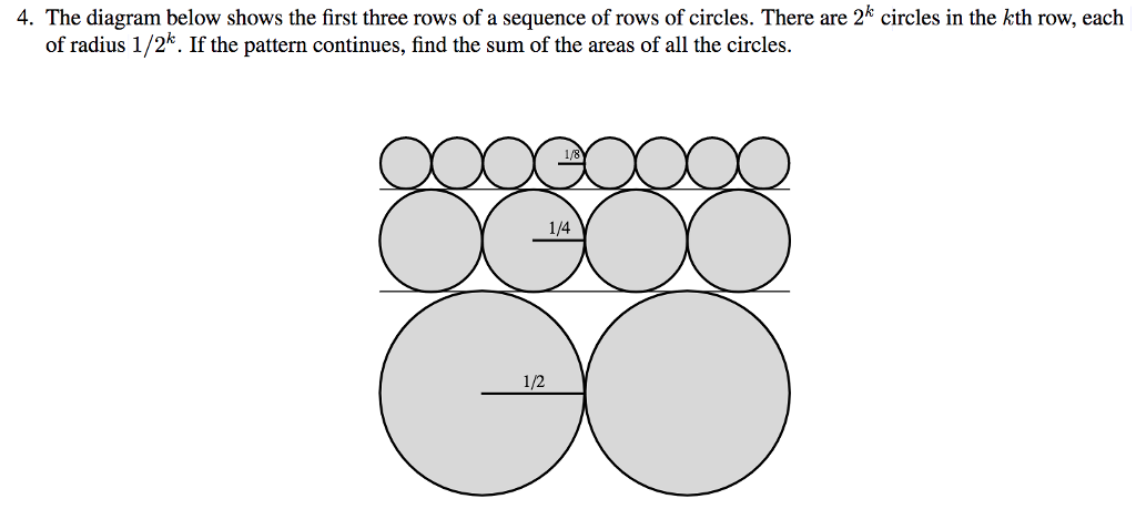 Solved 4 the diagram below shows the first three rows of 4 the diagram below shows the first three rows of a sequence of rows of ccuart Images