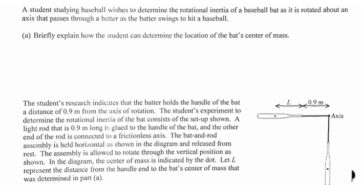 an experiment to determine the rotational motion of various objects Experiment 2 rotational can be used to calculate the moment of inertia is a measure of the resistance of an object to changes in its rotational motion.
