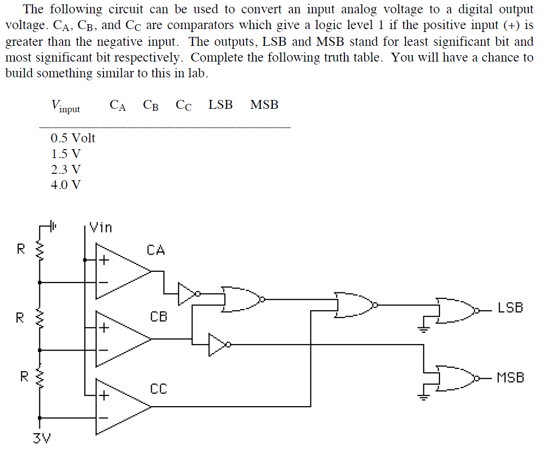 solved the following circuit can be used to convert an in