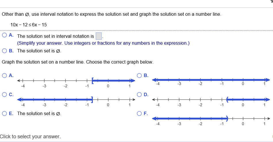 solved other than 0 use interval notation to express the