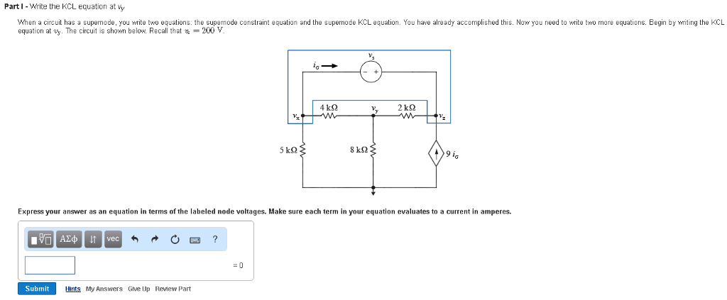 Electrical engineering archive june 13 2017 chegg note that this circuit has a branch that connects two essential nodes and contains only a voltage source che branch with the 200vsource which presents a fandeluxe Image collections