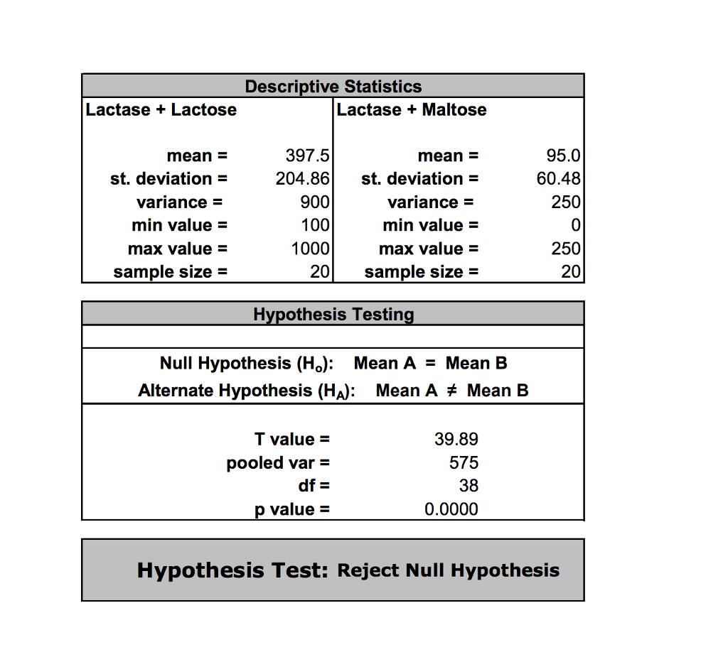sample enzyme lab report