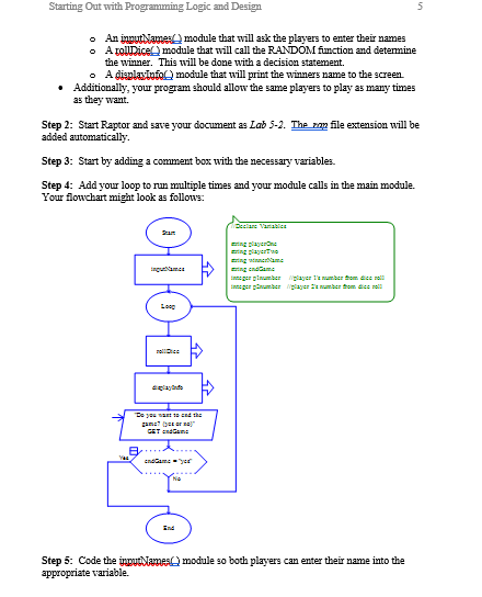 Lab 5 2 - Functions And Flowchart:s When Creating     | Chegg com