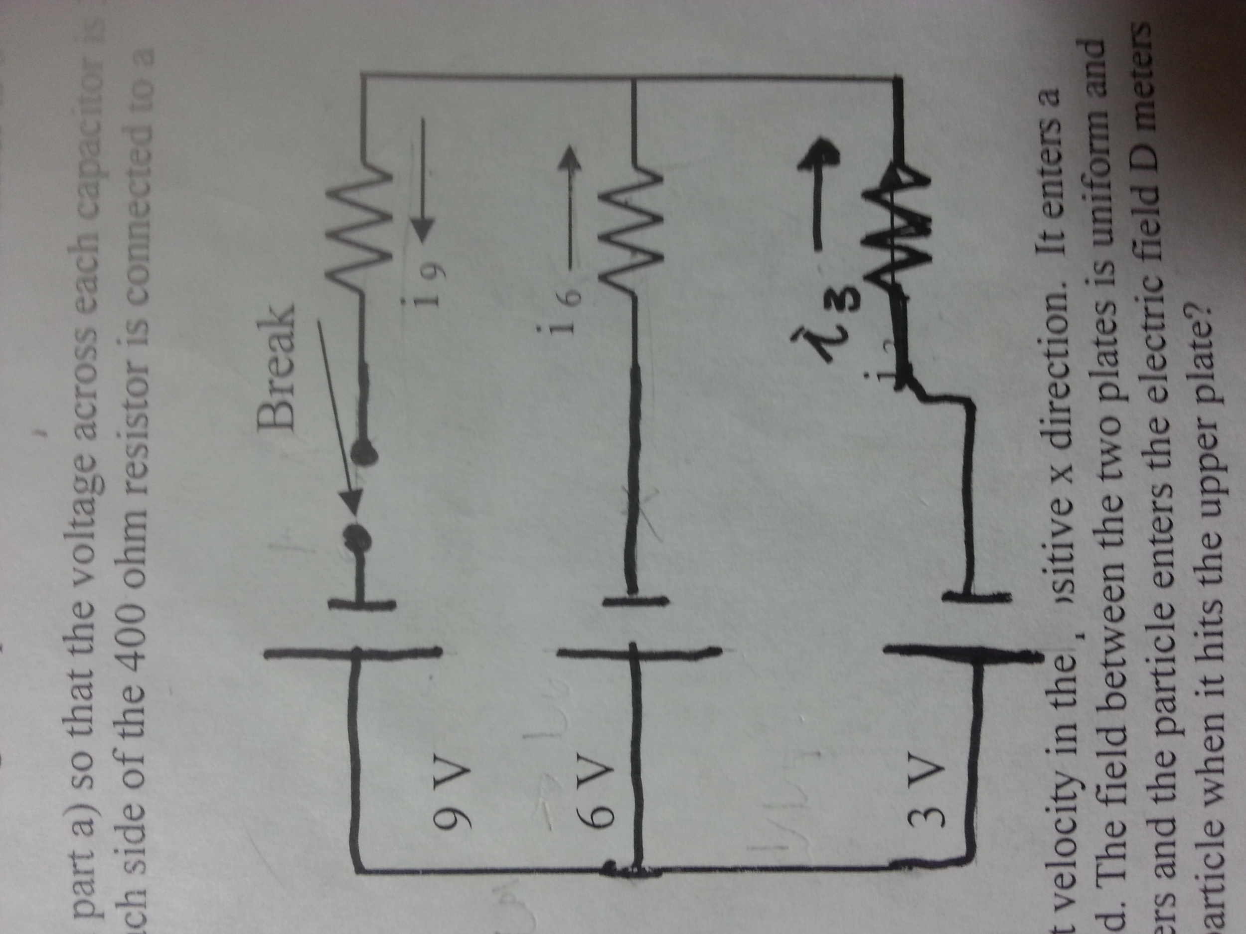 Each Resistor Is 10 Ohms. How Much Current Flows O... | Chegg.com