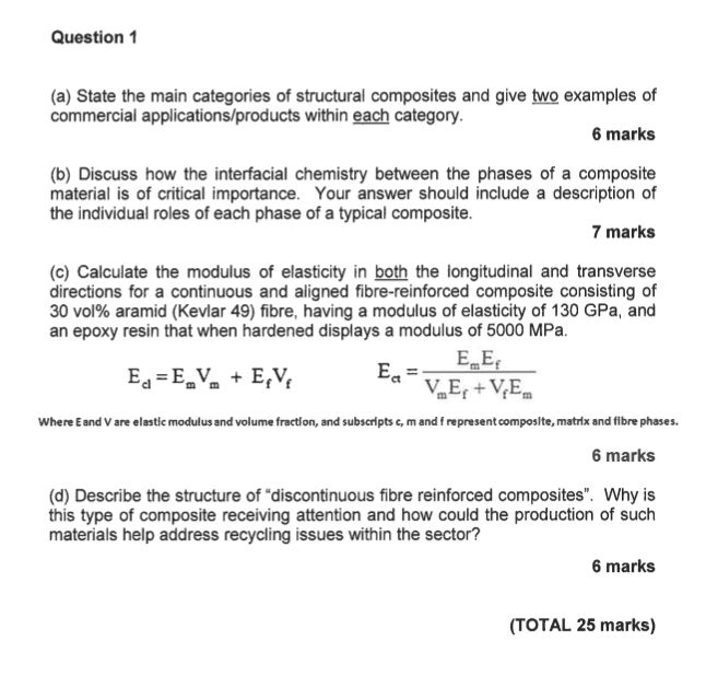Solved Question1 A State The Main Categories Of Structu