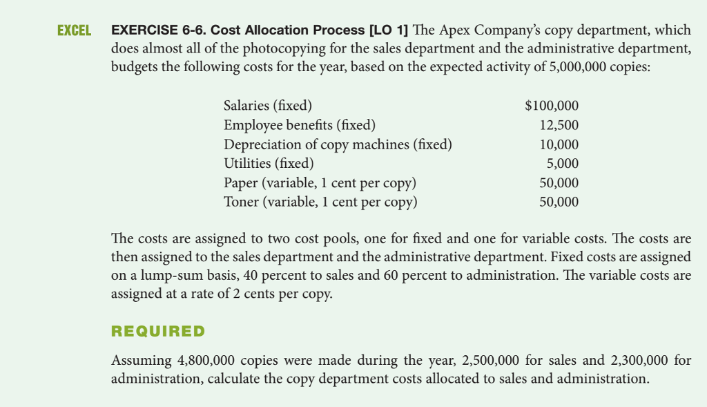 Accounting archive july 14 2017 chegg cost allocation process lo 1 the apex companys copy fandeluxe Gallery