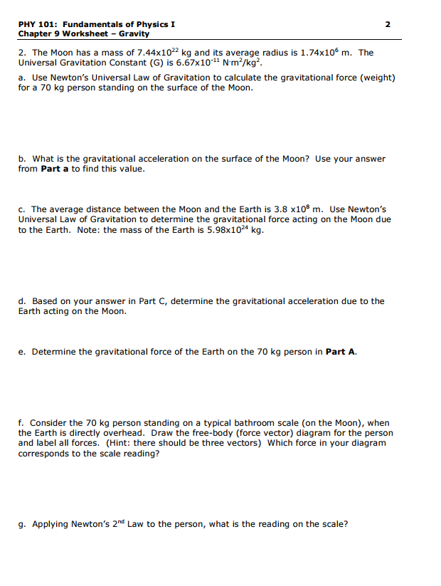 Solved: PHY 101: Fundamentals Of Physics I Chapter 9 Works ...