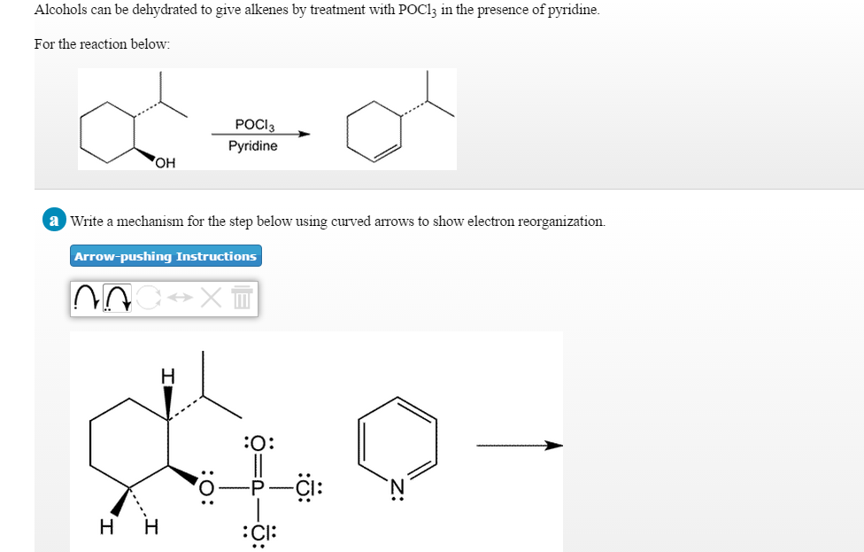 Solved Alcohols Can Be Dehydrated To Give Alkenes By Trea