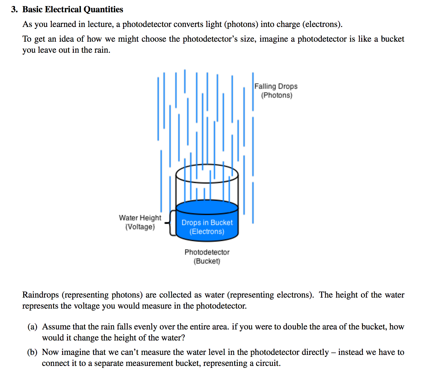 Solved: 3. Basic Electrical Quantities As You Learned In L ...