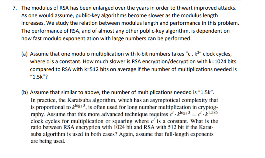 key algorithm 1024-bit rsa