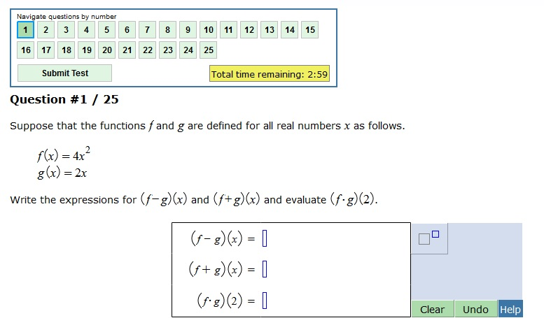 Solved Suppose That The Functions F And G Are Defined For