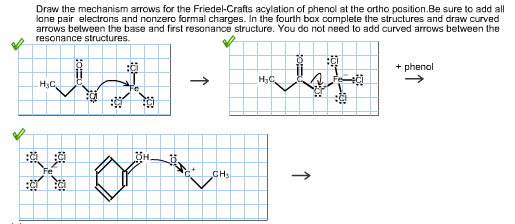 Solved: Draw The Mechanism Arrows For The Friedel-crafts A