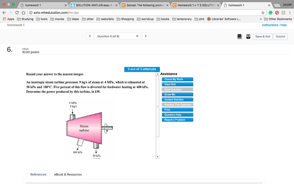 Solved: Homework 1 × SOLUTION: MATLAB Easy 4 X Solved: The