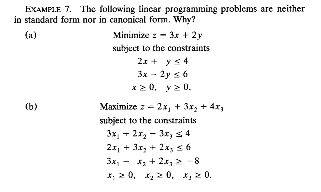 Solved Part B Only Solve The Indicated Linear Programmin