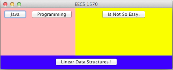 EECS 1570 Java Programming Is Not So Easy. Linear Data Structures