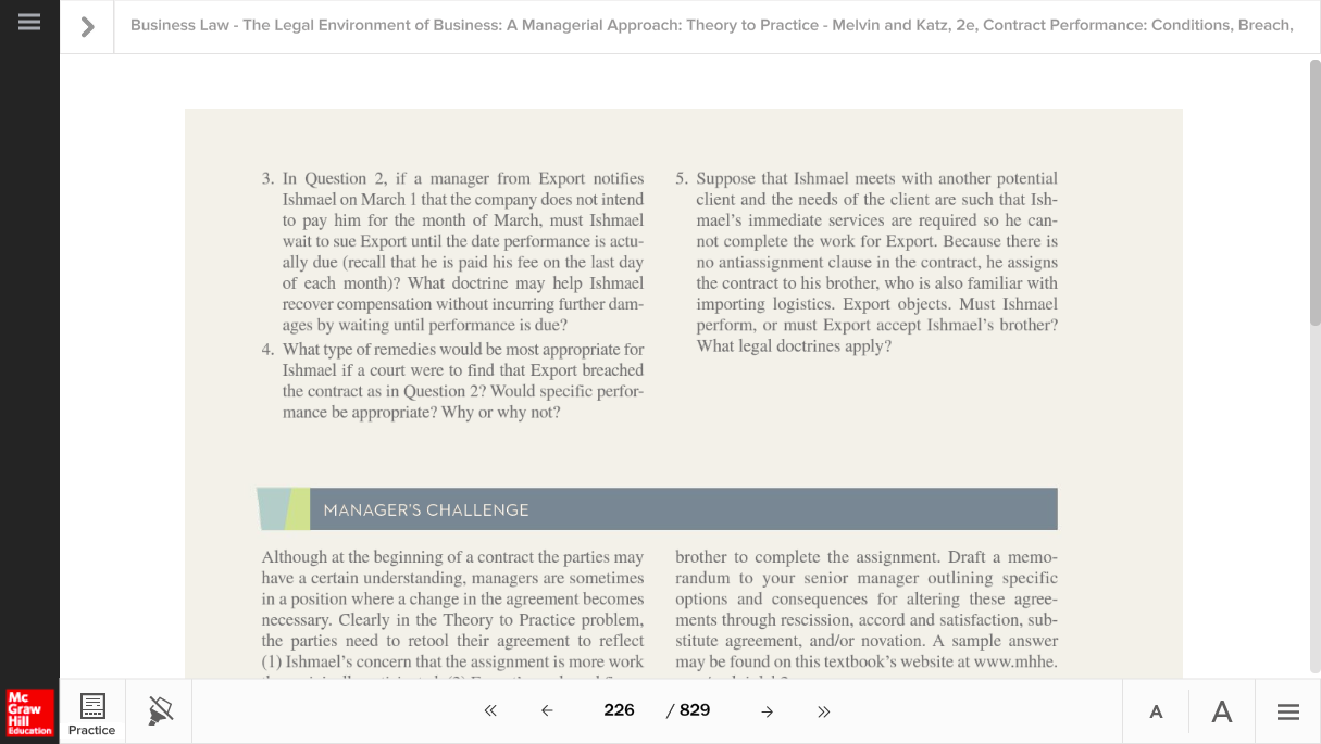 Solved Business Law The Legal Environment Of Business