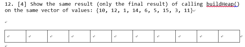 8aa70d94daff1 f Show the same result (only the final result) of calling build Heap on