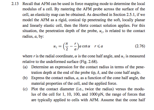 from the book introductory biomechanics from cell chegg com rh chegg com