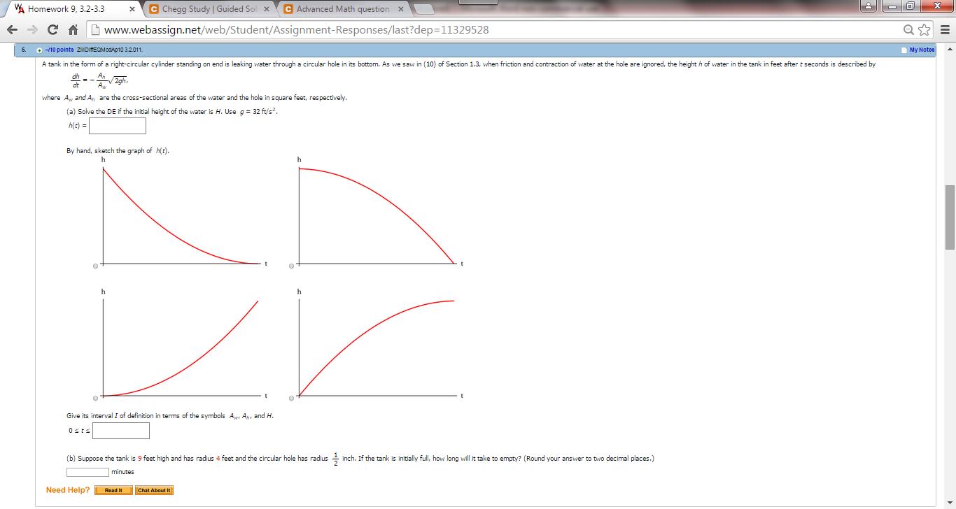 Solved: VA Homework 9, 3 2-3 3 X Chegg Study Guided S X C