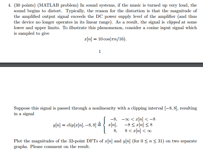 Solved: Please Include The Matlab Code For This Part And I