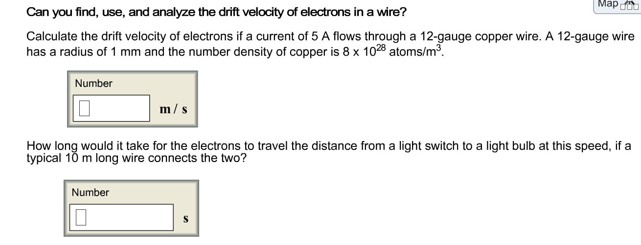 Solved: Can You Find, Use, And Analyze The Drift Velocity ...