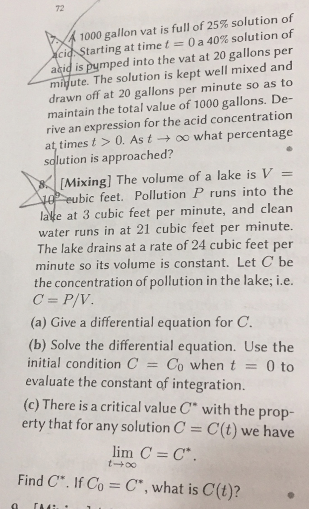 help with calculus problems