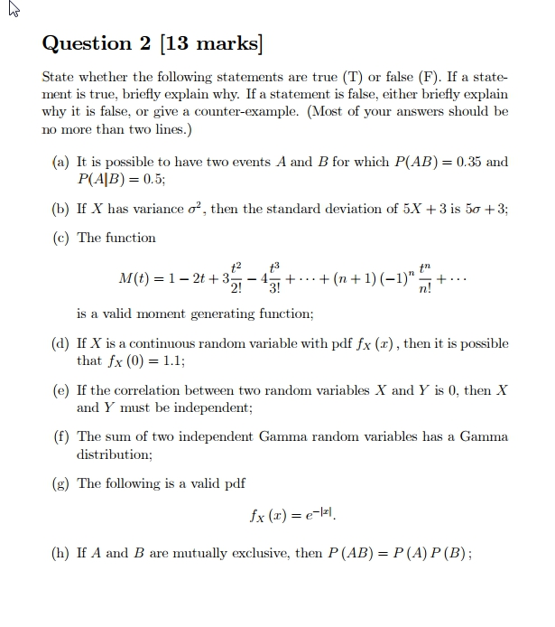 Solved: Please Help With This Quesiton About Probability A