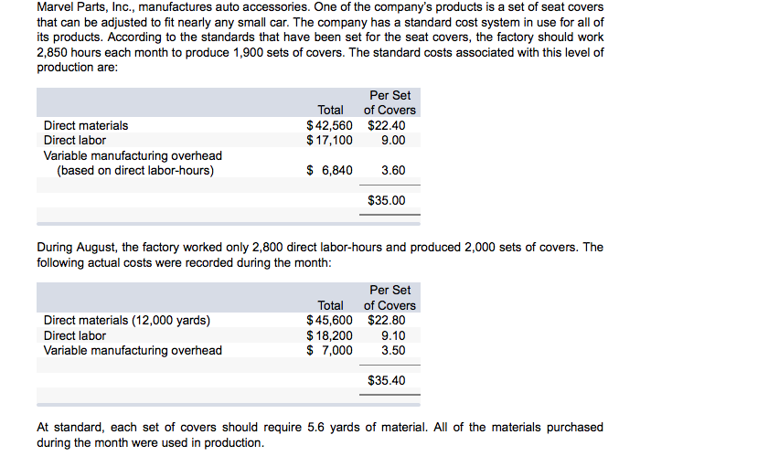 the geurtz company uses standard costing Start studying acct 203 module 2 (chapter 3,4  snappy company has a job-order costing system and uses a predetermined  the.