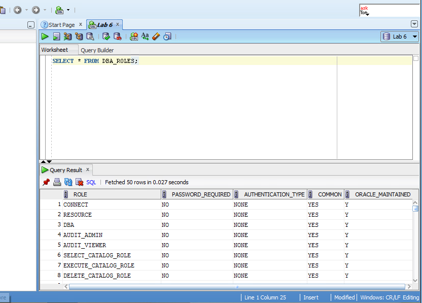 Solved: JUST NEED SQL STATEMENTS  SELECT * FROM Dictionary