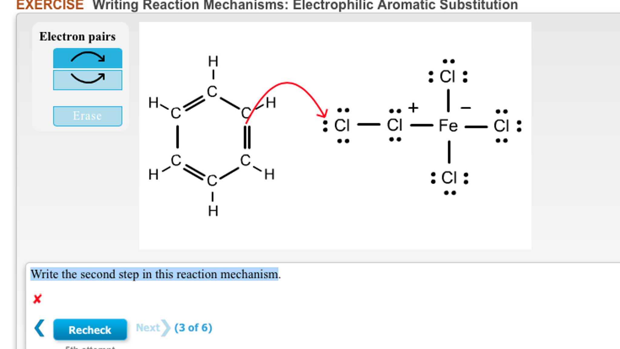 electrophilic aromatic substitution essay I'm assuming you mean to say electrophilic aromatic substitution you must know the intermediates that occur for an electrophilic aromatic substitution reaction for benzene based on those, try drawing the resonance structures for pyridine (at all positions separately) you end up with a.