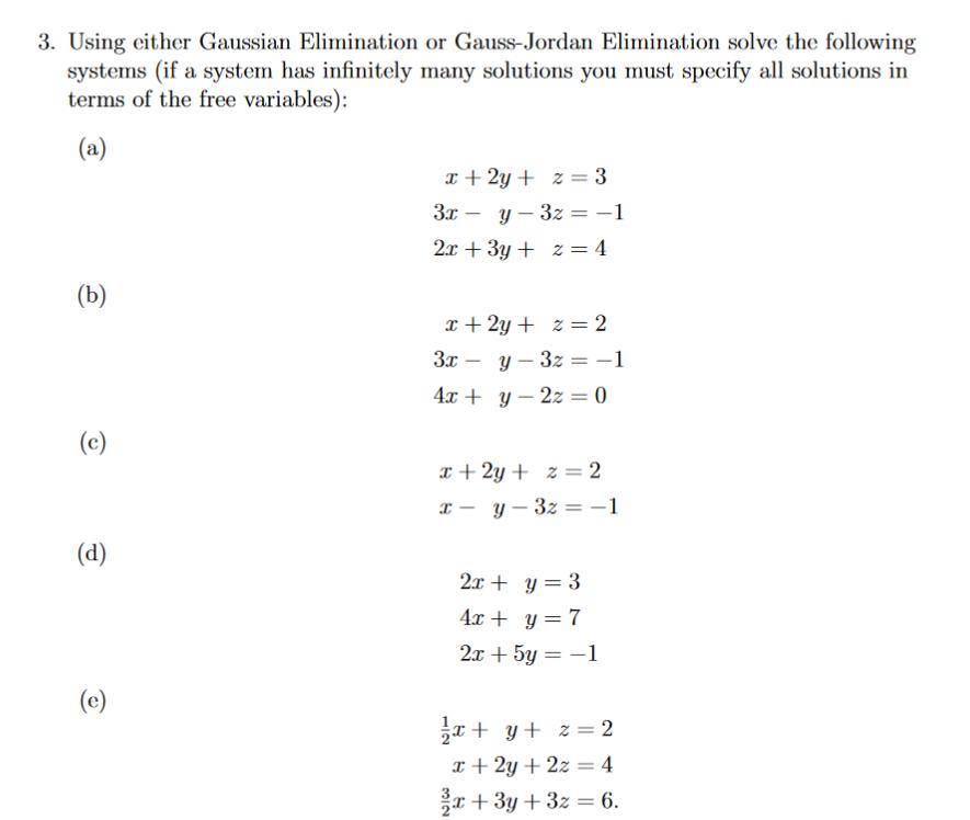 Rose Glen North Dakota ⁓ Try These Gauss Elimination Method How To Solve