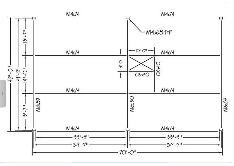 1. Prepare A Structural Steel Materials List For T... | Chegg.com