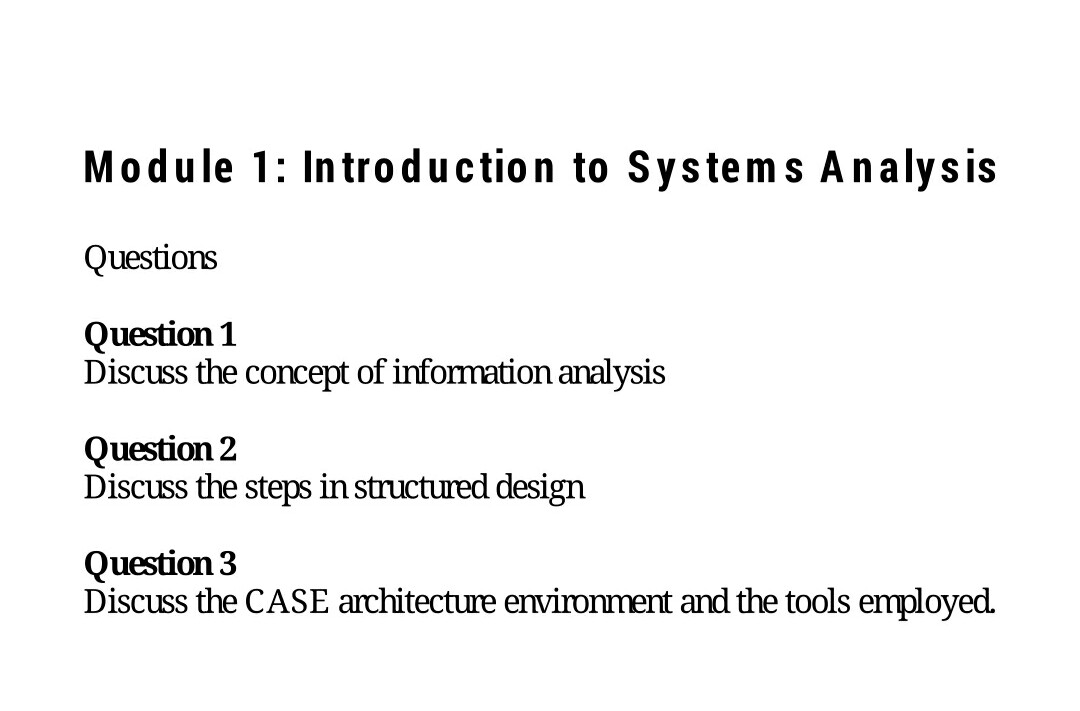 module one discussion questions 1 ignition discussion questions module 1: choosing a computer 1 why is it important to compare features of a computer before making a purchase what are the different features of a computer that people should consider before making their selection.