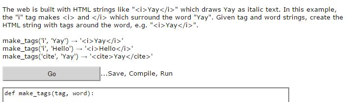 Solved: Please, Need Help For Ython Codingbat  1  2  3  4